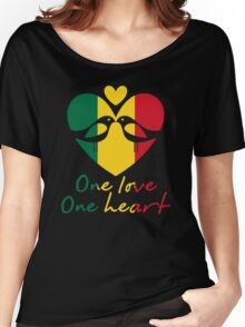 One Love One Heart Women's Relaxed Fit T-Shirt