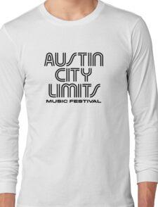 Austin City Limits Music Festival 2016 Long Sleeve T-Shirt