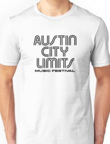 Austin City Limits Music Festival 2016 Unisex T-Shirt