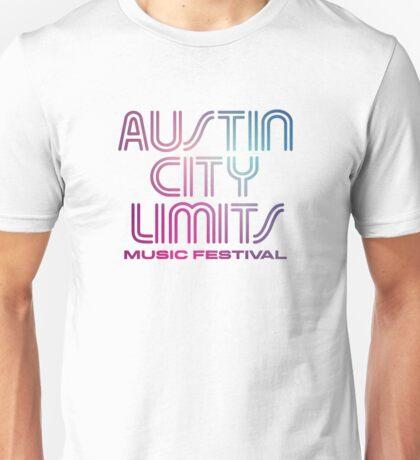 Austin City Limits Music Festival 2016 - Blue Violet Color Unisex T-Shirt