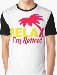 Relax Tree Graphic T-Shirt
