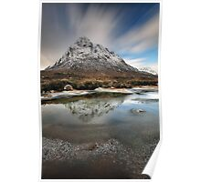 Buachaille reflection Poster