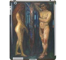 Edvard Munch - Metabolism iPad Case/Skin