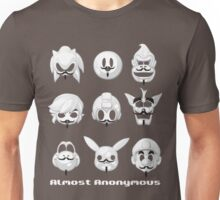 Almost anonymous Unisex T-Shirt