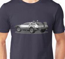 Time Travelling De Loreon Unisex T-Shirt