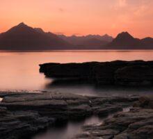 Skye Sunset Afterglow Sticker