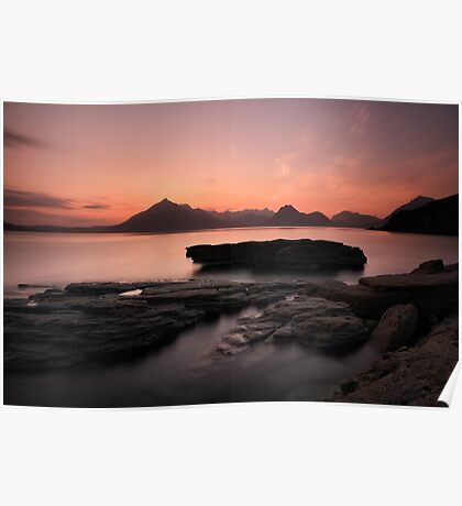 Skye Sunset Afterglow Poster
