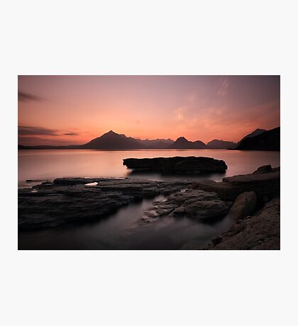 Skye Sunset Afterglow Photographic Print