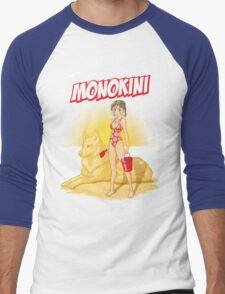 Princess monokini Men's Baseball ¾ T-Shirt