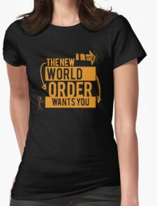 NWO Wants You Womens Fitted T-Shirt