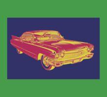 1960 Cadillac Luxury Car Pop Image Kids Clothes