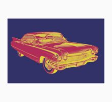 1960 Cadillac Luxury Car Pop Image Kids Clothes