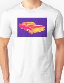 1960 Cadillac Luxury Car Pop Image T-Shirt