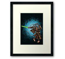 Jedi Gerbil Framed Print