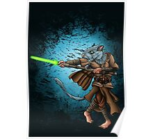 Jedi Gerbil Poster