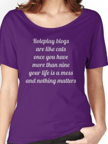 Roleplay Blogs Women's Relaxed Fit T-Shirt