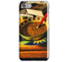 Solitary Supper iPhone Case/Skin