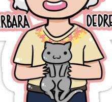 SNL - Barbara DeDrew Sticker