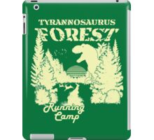 Tyrannosaurus Forest Running Camp iPad Case/Skin