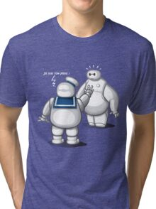 Father and son ? Tri-blend T-Shirt