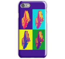 Colorful 1960 Cadillac Luxury Car Pop Art iPhone Case/Skin