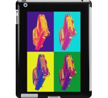 Colorful 1960 Cadillac Luxury Car Pop Art iPad Case/Skin