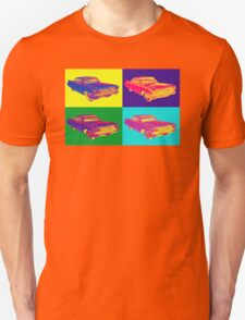 Colorful 1960 Cadillac Luxury Car Pop Art T-Shirt