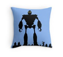 Iron Giant - Choose Who You are Throw Pillow