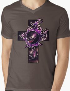 Gastly Mens V-Neck T-Shirt