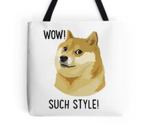 WOW! SUCH STYLE! Doge Meme T Shirts and More Tote Bag