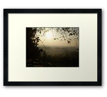 Misty Morning in Vicenza Framed Print
