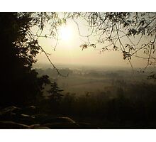 Misty Morning in Vicenza Photographic Print