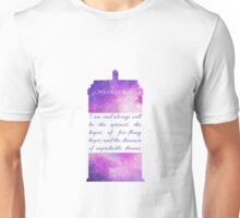 The Optimist - Doctor Who Unisex T-Shirt