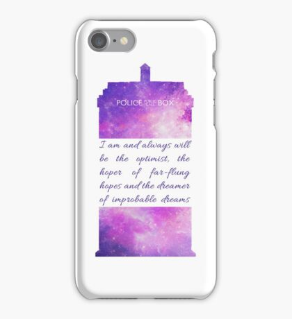 The Optimist - Doctor Who iPhone Case/Skin