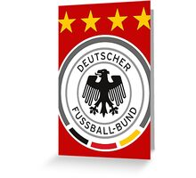 germany,fifa world cup 2018 in russia Greeting Card