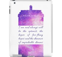 The Optimist - Doctor Who iPad Case/Skin