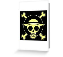One Piece Pirate (Texture) Greeting Card