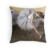 Edgar Degas - Dancers Backstage Throw Pillow