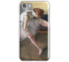 Edgar Degas - Dancers Backstage iPhone Case/Skin