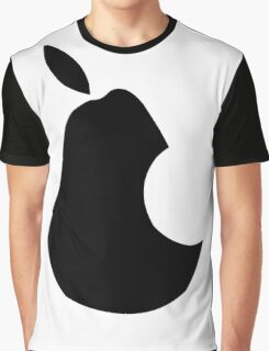 Ipear Retro Apple Bite Graphic T-Shirt