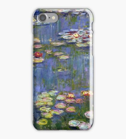 Claude Monet - Water Lilies 40 iPhone Case/Skin