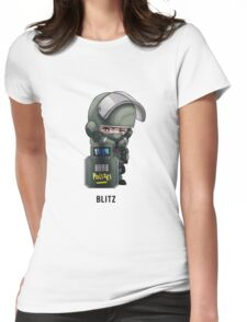 Blitz Chibi Womens Fitted T-Shirt