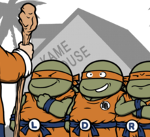 Ninja Kame Kids Sticker