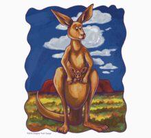 Animal Parade Kangaroo One Piece - Short Sleeve