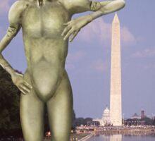 Alien Vacation - Washington D C Sticker