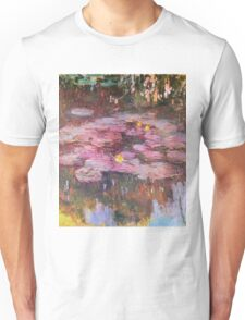 Claude Monet - Water Lilies 1917 6 Unisex T-Shirt