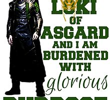 Loki of Asgard by Gwright313