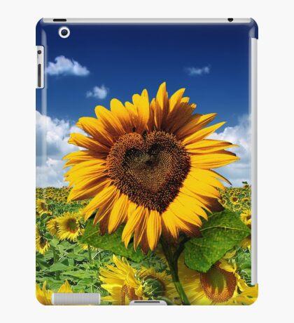 Sunflower Heart iPad Case/Skin