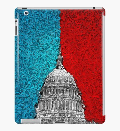 Capitol Building Abstract iPad Case/Skin