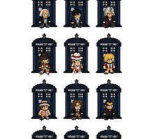 8-bit Doctor Who by CosmicThunder